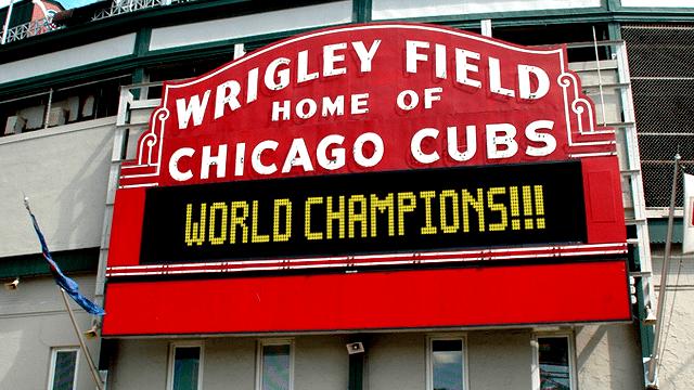 Cubs World Series