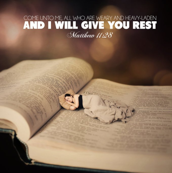Rest In The Lord bible