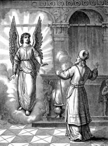 angel appears to zechariah