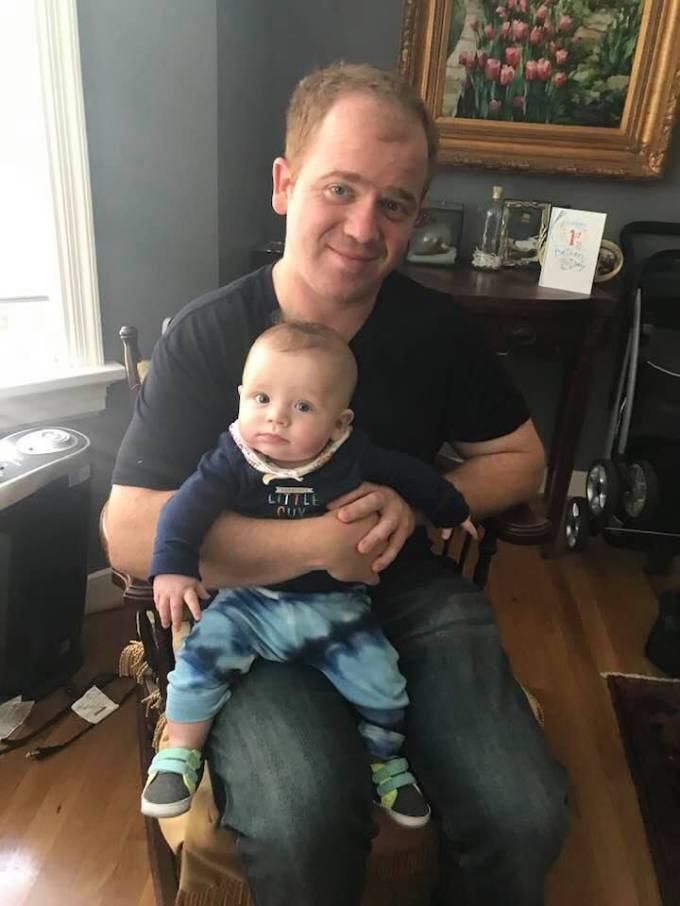 Will and Rowan rocking chair